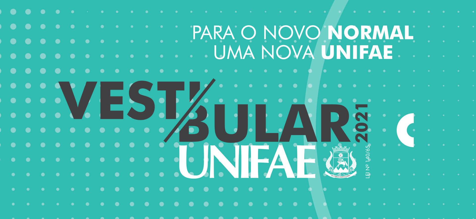 Vestibular UNIFAE 2021